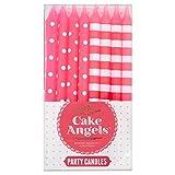 Kuchen Engel Flecken Und Streifen Party-Kerzen
