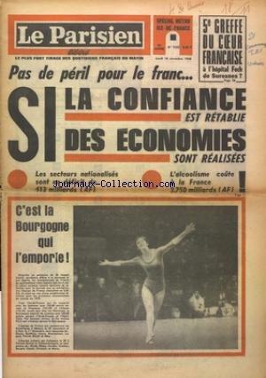 PARISIEN LIBERE (LE) [No 7532] du 18/11/1968
