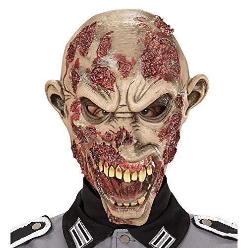 Widmann 00466 Übergroße Maske Slasher Zombie, Mehrfarbig, Taglia Unica