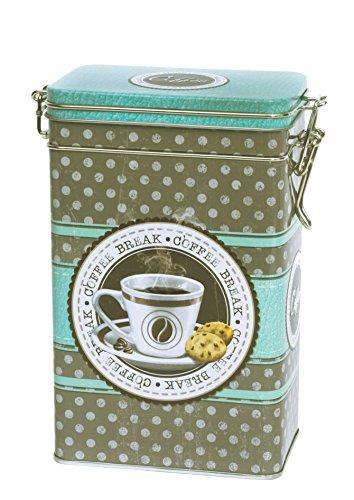 Qualität Kaffeepause Kaffee Dose/Tee Caddy/mint grün und sagen, grau Küche...