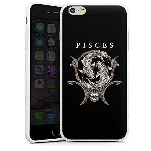 Apple iPhone X Silikon Hülle Case Schutzhülle Fische Sternzeichen Astrologie Silikon Case weiß