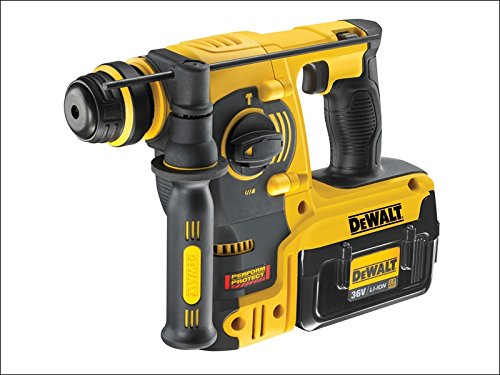 DeWalt DCH363D2-GB 36V SDS-Plus Rotary Hammer Drill with 2 x 2.0Ah Batteries by (36v Drill)
