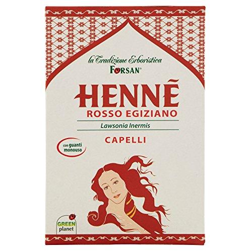 La tradizione erboristica forsan hennè rosso egiziano - [pacco da 3]