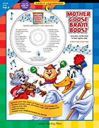 Mother Goose Brain Boost: Using Music and Movement to Teach Cognitive Skills [With CD] (Early Learning)