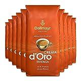 10x DALLMAYR Crema d' Oro INTENSA (á ganze Bohnen / 1000g)