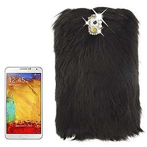 Luxury Fur Bling Rhinestone Hard Protective Case For Samsung Galaxy Mega 5.8 I 9150