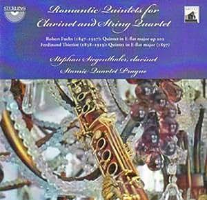 Romantic Quintets for Clarinet & String Quartet
