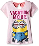 Best Minion Shirts - Minions Girls' T-Shirt (MI1EGT2556 CANDY PINK 11/12) Review