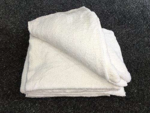 10KG Frottee Putzlappen Putztücher Reinigungstücher 100% Baumwolle Zuschnitt
