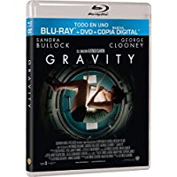Gravity (Bd + Dvd + Copia Digital) (Blu-Ray) (Import) (2014) Sandra Bullock;