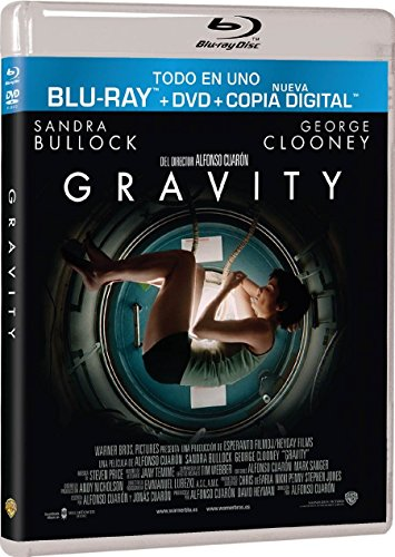 Gravity (BD + DVD + Copia Digital) [Blu-ray]