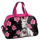 Ragusa-Trade Mädchen Kinder Sporttasche Reisetasche mit tollem Pferde Motiv (074HR) für...