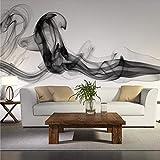 XIAOMENG Wallpaper Hintergrundbild Benutzerdefinierte Wandbild Tapete Moderne Rauch Wolken Abstrakte Kunst Große Wandmalerei Schlafzimmer Wohnzimmer Sofa Tv Foto Tapeten 3D, H350 * W256Cm