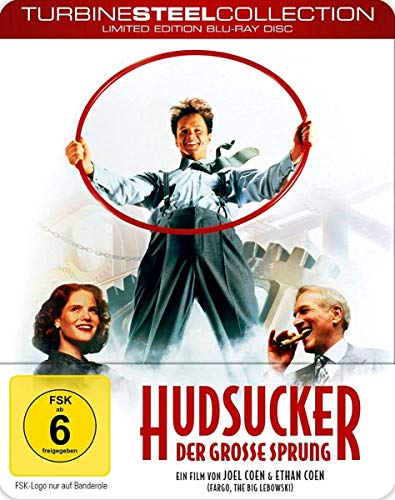 Hudsucker - Der große Sprung [Turbine Steel Collection] (Blu-ray)
