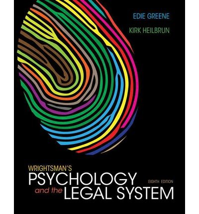 [(Wrightsman's Psychology and the Legal System )] [Author: Edith Greene] [Jan-2013]