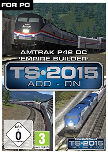Train Simulator 2015 Amtrak P42 DC 'Empire Builder'