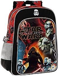 Disney 25923A1 Star Wars Battle Mochila Escolar, 19.2 litros, Color Negro