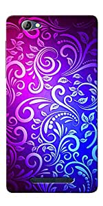DigiPrints High Quality Printed Designer Soft Silicon Case Cover For Lava X11
