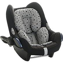 Reductor Antialérgico universal para maxicosi, capazo, silla de coche, silla de paseo Janabebe® Black Star