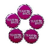 Madcaps Team Bride Badge (Set Of 5) (Bla...