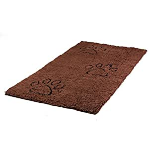 Wolters Cat & Dog Dirty Dog Doormat Runner Paillasson pour chien Marron Taille XL 120 x 60cm