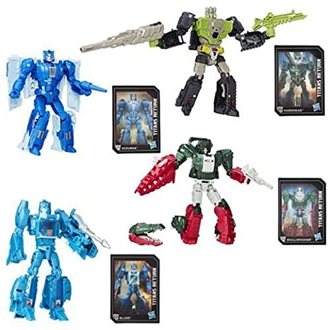 Transformers Generations Titans Return Deluxe Wave 1 Set of 4 by TRA