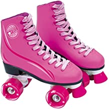 Saica - Patines de bota con cordones, 33, color rosa (6964)