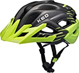 KED Status Helmet Junior Green Black Matt Kopfumfang