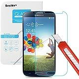 Samsung Galaxy S4 Panzerglas, Bestwe Schutzglas 0,3mm 9H Gehärtetem Glas Displayschutzfolie (Samsung Galaxy S4 Panzerglas)