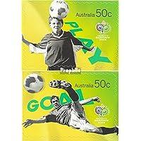 Australia 2665-2666 (completa edizione) 2006 Calcio (Francobolli )