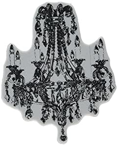 Stampers Anonymous 1-Piece 4 x 3.25-inch Donna Salazar Cling Stamp Chandelier