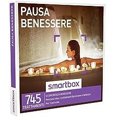 Idea Regalo - Smartbox - Cofanetto Regalo - PAUSA BENESSERE - 745 trattamenti wellness