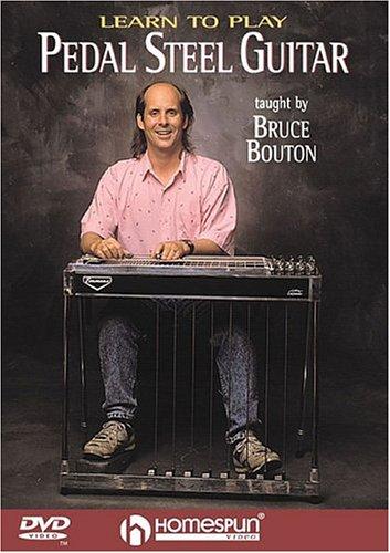 Learn Pedal Steel Gtr Bouton DVD (Pedal-steel-dvd)