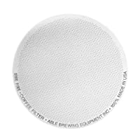 Able Brewing DISK FINE Coffee Filter for AeroPress Coffee & Espresso Maker - stainless steel reusable- made in USA