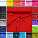 MAGAM-Stoffe ''Micha'' Interlock Jersey Uni | 20 Farben |