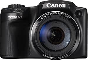 Canon PowerShot SX510 HS Fotocamera Digitale 12.1 Megapixel, Nero