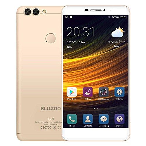 Bluboo DUAL Smartphone 4G LTE 5,5 Pulgadas 2,5D 1920 x 1080 Pixel...