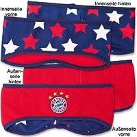 FC Bayern München Wendestirnband Kids, rot-blau