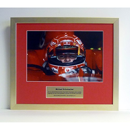 Michael Schumacher Special Edition Foto Präsentation (Sammlerstücke Ferrari)