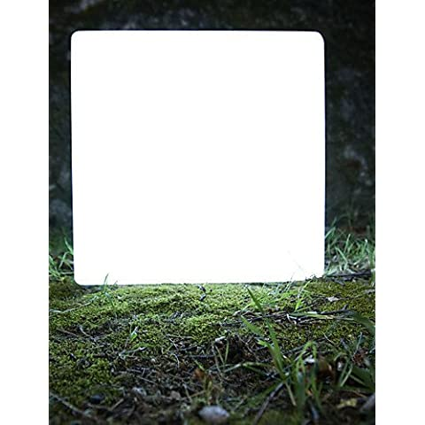ASNSWDC® senza fili e ricaricabile lampada a LED per giardino - grande cubo (1075-cube430) , usa-with remote control