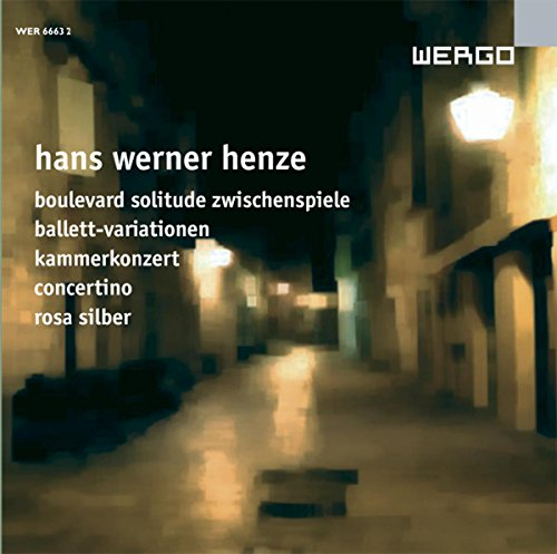 Henze : Oeuvres orchestrales III