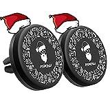 Papá Noel Soporte Móvil Coche Magnético de 2 Unidades en Rejillas de Coche, Mpow Navidad Soporte del Coche del Teléfono para iPhone X/8/8Plus/7/7Plus/6/6s/6 Plus, Android Smartp