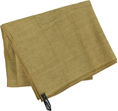 PackTowl - Luxe - Outdoor- & Sporthandtuch aus Mikrofaser, Farbe Packtowl:Bronze, Größe Packtowl:Beach (91 x 150 cm)