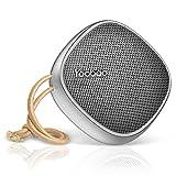 Bluetooth Lautsprecher Yoobao 2000mAh Portable Stereo Bluetooth 4.2 Mini Kabelloser Outdoor-Lautsprecher mit Griff 8-12 Stunden Spielzeit Universal Musik-Player für Strand, Radfahren und Party - Grey