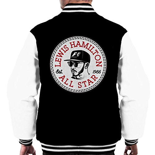 Lewis Hamilton All Star Converse Logo Men's Varsity Jacket (All-star-spiel-logo)