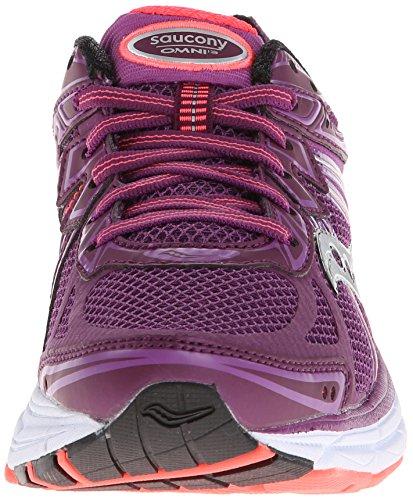 SAUCONY Omni 13 Scarpa da Running Donna Purple/Coral