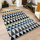 MJY2011 Teppiche Nordic Haushalt Wohnzimmer Teppich/Schlafzimmer Nachttisch Sofa Couchtisch Matten (4 Größen),140 * 200 cm