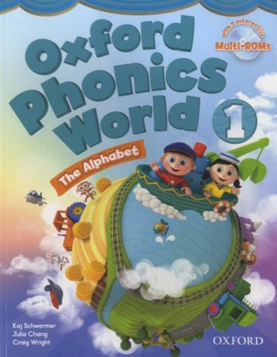 Oxford Phonics World 1 student book with multi-rom : The Alphabet (2Cédérom)