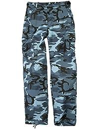 Mil-Tec BDU Ranger Combat Pantalons Skyblue