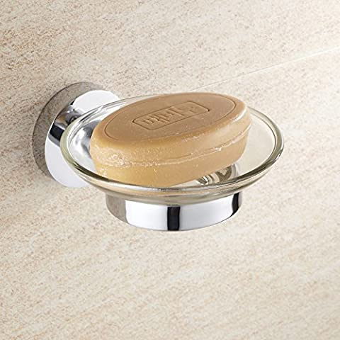 Hanmei la piastra di base sapone porta sapone, porta, il bagno posacenere in acciaio inox
